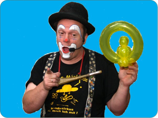 Clown Mücke